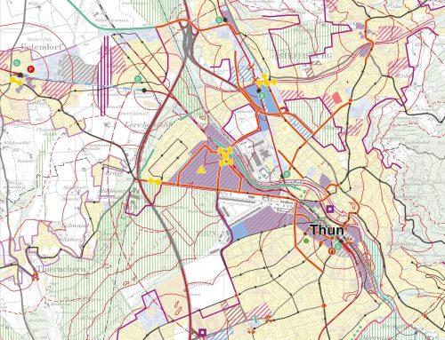 Regionales Gesamtverkehrs- und Siedlungskonzept (RGSK) Thun-Oberland West